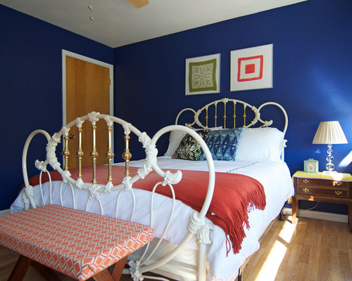 Royal Blue And Black Bedroom royal blue bedroom ideas. design dilemma monochromatic about royal