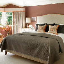 Contemporary Bedroom by Amory Brown
