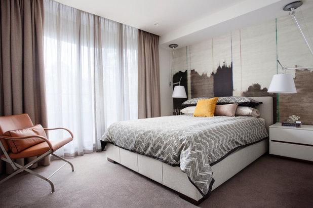 Contemporary Bedroom by Alexander Pollock Interiors