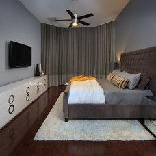 Contemporary Bedroom by Morrone Interiors