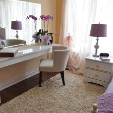 Eclectic Bedroom by Idevoks Design