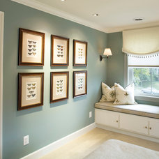 Traditional Bedroom by Michelle Miller Interiors