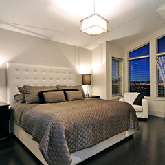 contemporary bedroom by Jordan Lotoski