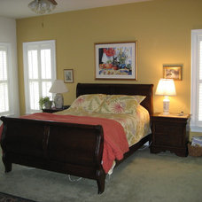 Eclectic Bedroom by Graystone Homes, Inc.