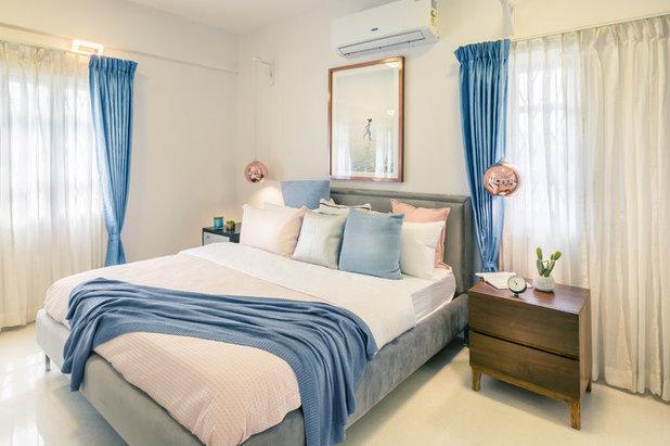 Scandinavian Bedroom by Shalini George Interiors