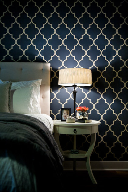Contemporary Bedroom by Allison Jaffe Interior Design LLC