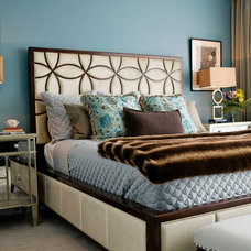 Contemporary Bedroom by Woodson & Rummerfield's House of Design