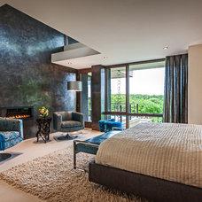 Contemporary Bedroom by Wheaton Hushcha Design