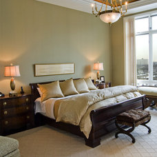 Traditional Bedroom by Claudia Martin, ASID