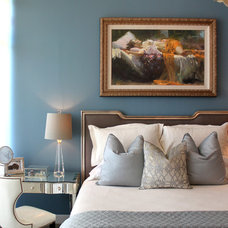 Contemporary Bedroom by Design House, Inc