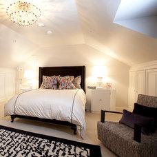 Contemporary Bedroom by Laura U, Inc.
