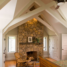 Rustic Bedroom by Albert, Righter & Tittmann Architects, Inc.