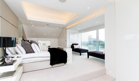 How to Create Beautiful Lighting with Drop Ceilings and Coffers