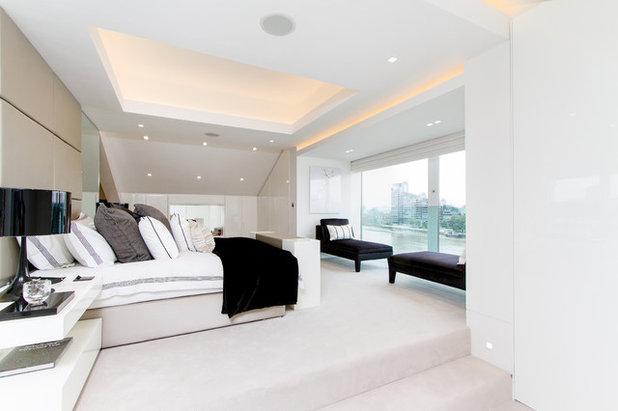 Trasformare la camera da letto in una suite di lusso con - Luce camera da letto ...