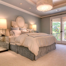 Contemporary Bedroom by Thompson Custom Homes