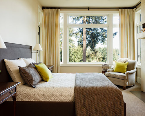 Chartreuse bedding houzz Earth tone bedroom