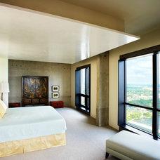 Industrial Bedroom by Jodi Gillespie Interior Design