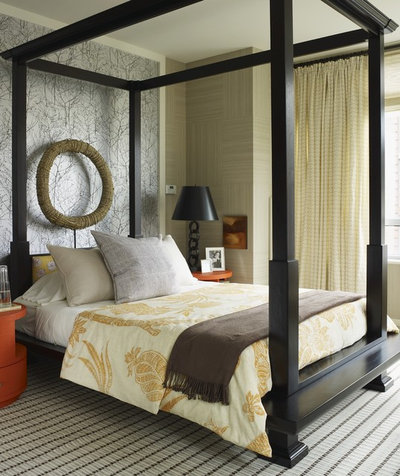 New Eclectic Bedroom by Thom Filicia Inc