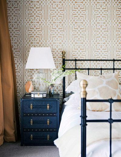 Eclectic Bedroom by Penman Brown Interior Design