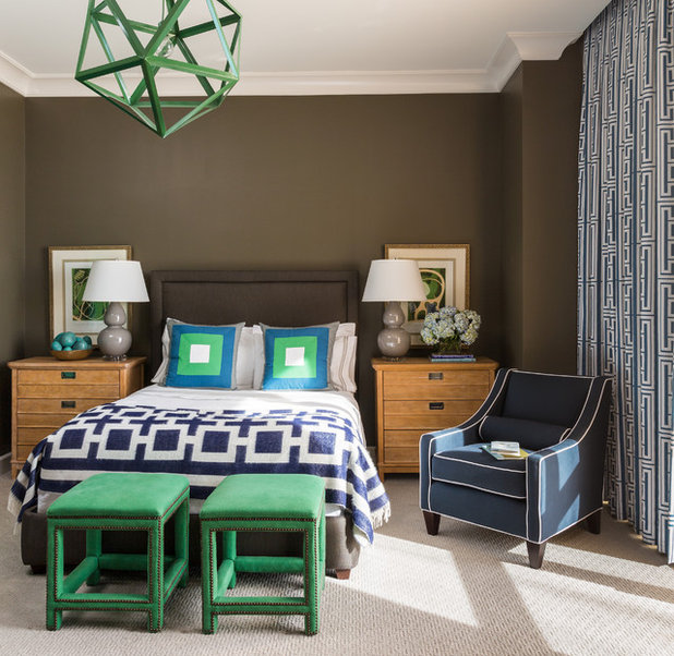 Outrageous Green And Brown Bedroom: Color Of The Week: Kelly Green
