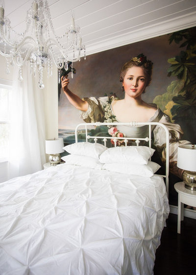 Shabby-chic Style Bedroom by Liquid Design & Architecture Inc.
