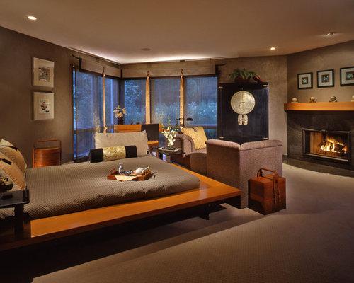 Asian flair bedroom design