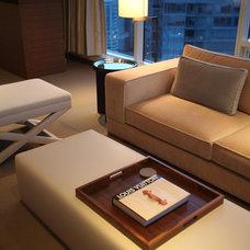 Modern Bedroom by Robert Bailey Interiors