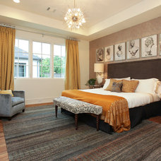 Transitional Bedroom by Covington Builders