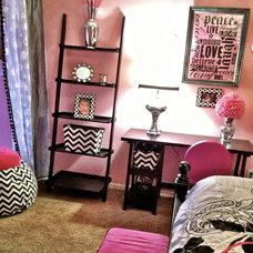 Eclectic Bedroom by K.Oatman Design LLC