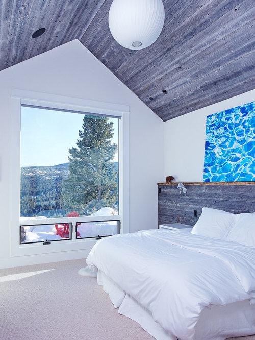 blaue rustikale schlafzimmer ideen f rs einrichten. Black Bedroom Furniture Sets. Home Design Ideas