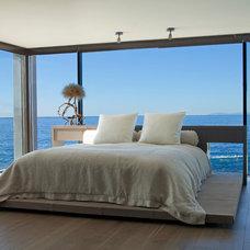 Contemporary Bedroom by Aria Design Inc