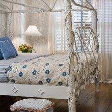 Eclectic Bedroom by Bob Greenspan Photography