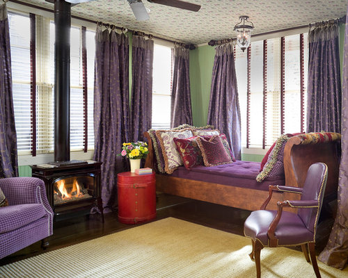 Purple And Green Curtains Ideas Pictures Remodel and Decor