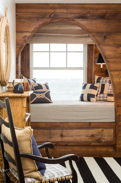 Beach Style Bedroom by Spang Builders, Inc.