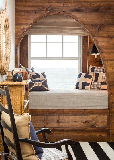 Beach Style Bedroom by Spang Builders, Inc.