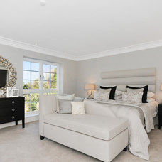 Transitional Bedroom by Milc Property Stylists