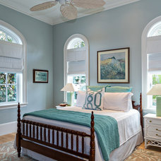 Beach Style Bedroom by Onshore Construction & Development, Inc.