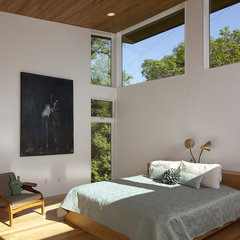 contemporary bedroom by Dick Clark Architecture