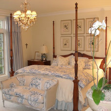 Traditional Bedroom by Kate Byer Interior Design