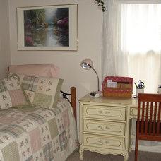 Traditional Bedroom by Karen M. Tones