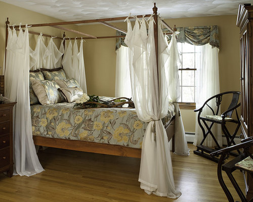 Curtains For Canopy Beds canopy bed curtains | houzz