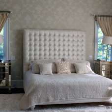 Transitional Bedroom by Tobi Brockway Interiors Inc.
