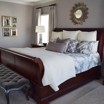 Romantic Retreat Master Bedroom- Ashburn, VA
