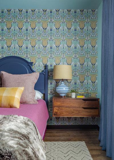 Eclectic Bedroom by IDF Studio