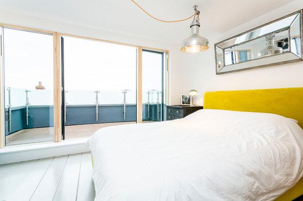 Ein Mansarddach schafft Platz fürs Schlafzimmer – mit Meerblick!