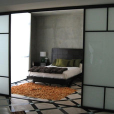 Asian Bedroom by The Sliding Door Company Canada