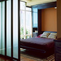 asian bedroom by The Sliding Door Company Vancouver