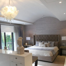 Contemporary Bedroom by Sylvia Elizondo Interior Design