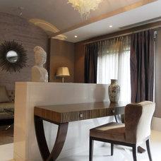 Contemporary Bedroom by Sylvia Elizondo Interior Design