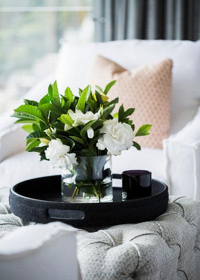 Contemporary Bedroom by Marylou Sobel Interior Design